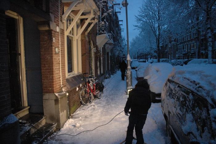 dead drop location in Amsterdam